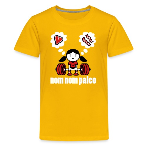 Deadlift Girl 2014 - Kids' Premium T-Shirt
