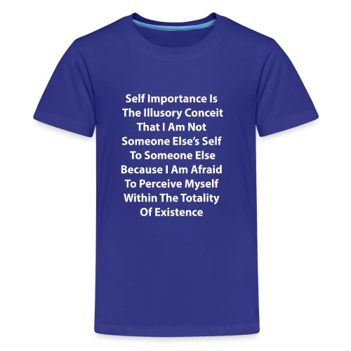 A Discourse On Self, Part 1 - Kids' Premium T-Shirt