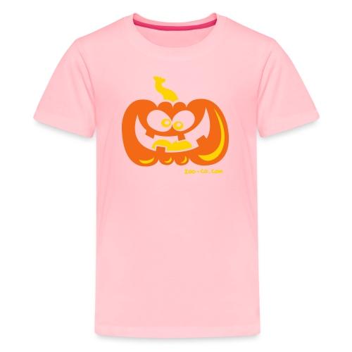 Smiling Pumpkin - Kids' Premium T-Shirt
