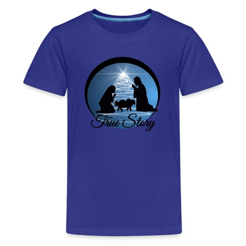 True Story Nativity - Kids' Premium T-Shirt