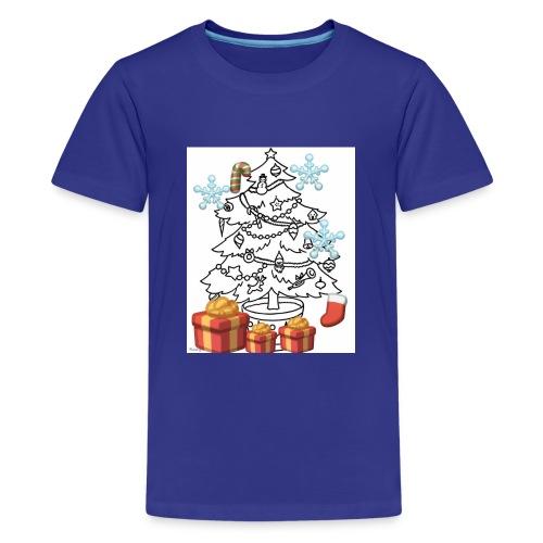 Christmas is here!! - Kids' Premium T-Shirt