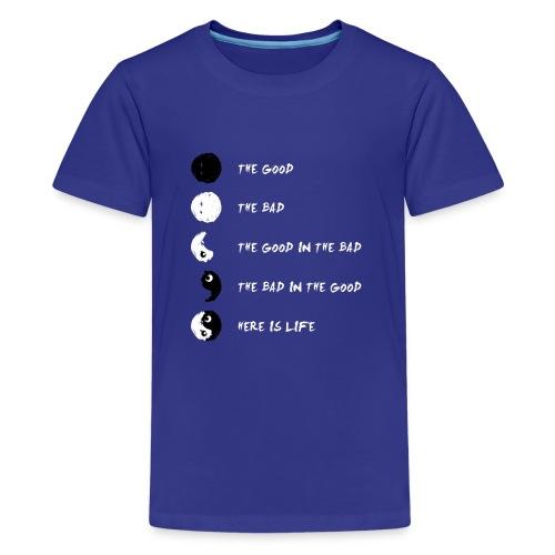 Ying Yang Life Balance - Kids' Premium T-Shirt