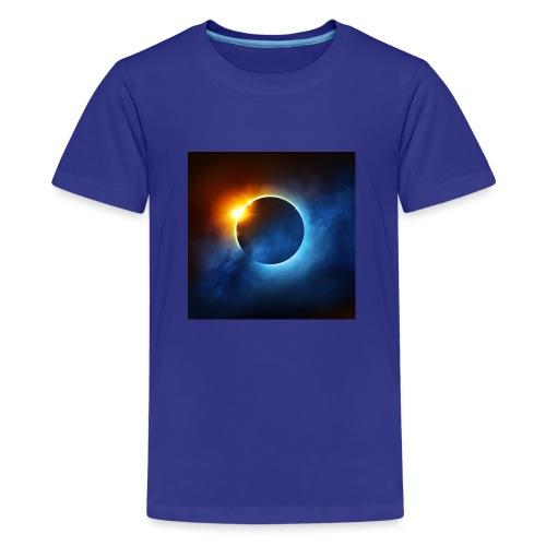 xoresi_xzor eclipse - Kids' Premium T-Shirt