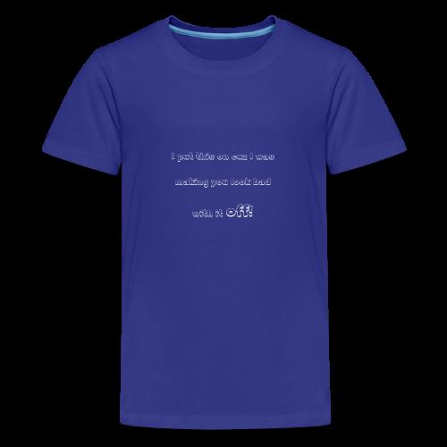 PutthisonWhite - Kids' Premium T-Shirt