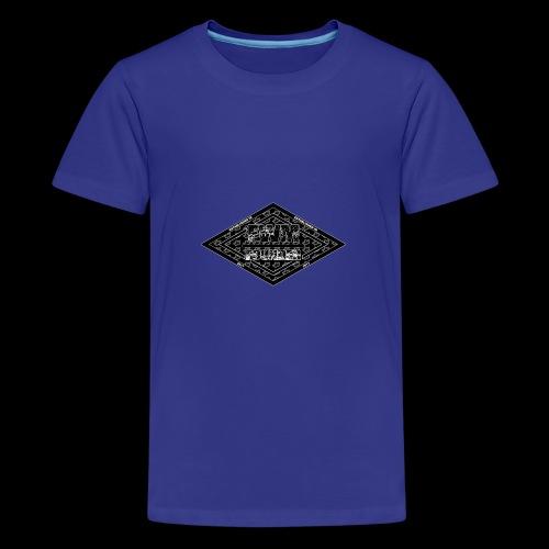 Limited Edition (B&W) FWM Founder Badge - Kids' Premium T-Shirt