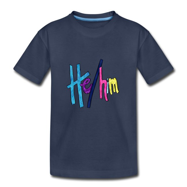 He/Him 1 - Small (Nametag)