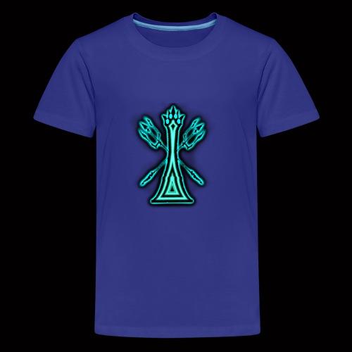 kingoftheblueflame - Kids' Premium T-Shirt
