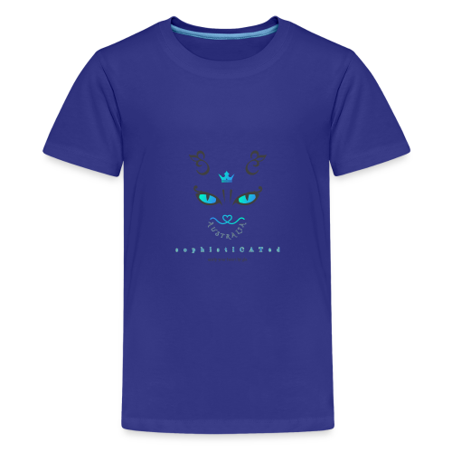 sophistiCATed by unzip your heart - Kids' Premium T-Shirt