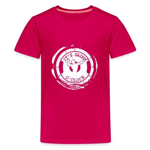It's Gainz O'Clock - Kids' Premium T-Shirt