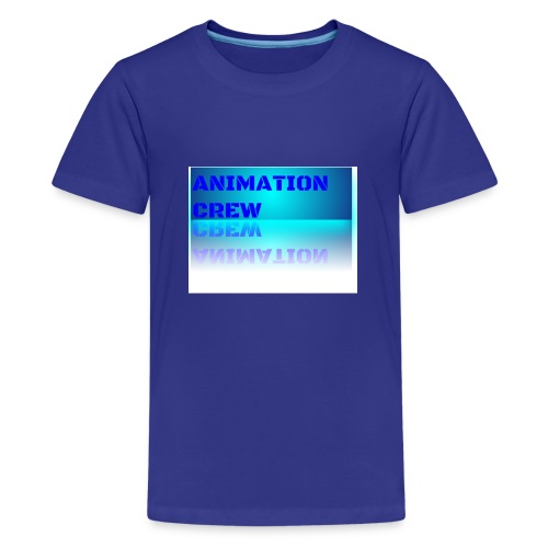 official Animation crew reflected merchandise - Kids' Premium T-Shirt