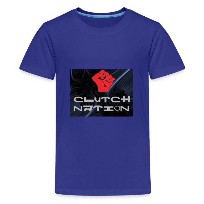 clutchnation logo merch