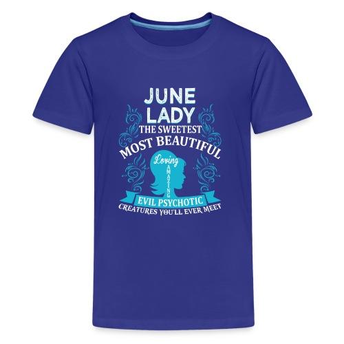 June lady - Kids' Premium T-Shirt