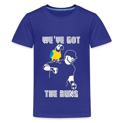 We ve Got The Run Vector - Kids' Premium T-Shirt