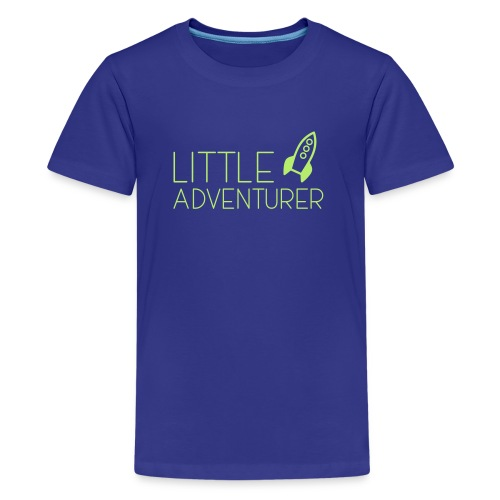 Little Adventurer Rocket t-shirt - Kids' Premium T-Shirt