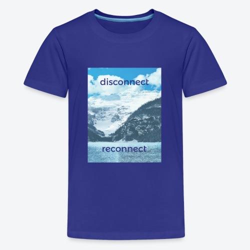 Disconnect Reconnect - Kids' Premium T-Shirt