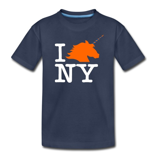 I Unicorn New York (Kristaps Porzingis) - Kids' Premium T-Shirt