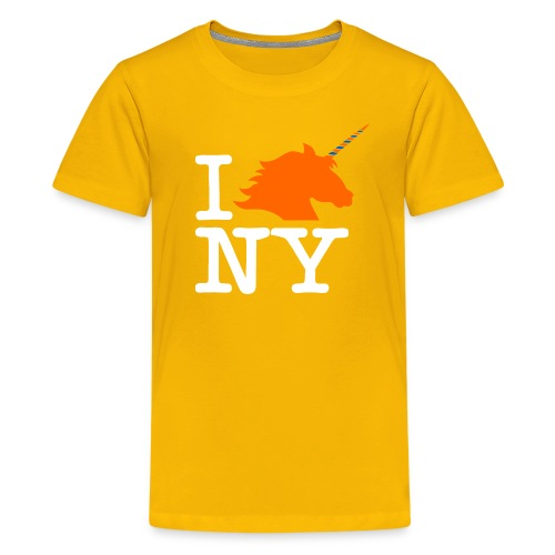 I Unicorn New York (Kristaps Porzingis) - Kids' Premium T-Shirt
