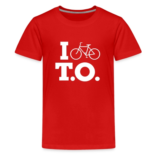 Toddler I Bike T.O. shirt - Kids' Premium T-Shirt