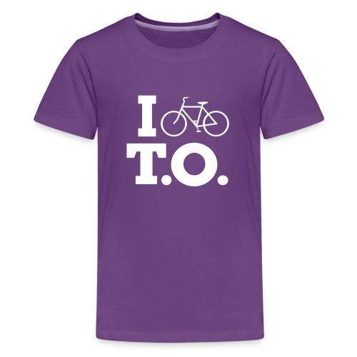 Toddler I Bike T.O. shirt - Kids' Premium T-Shirt