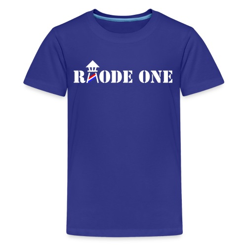 Rhode One logo - Kids' Premium T-Shirt