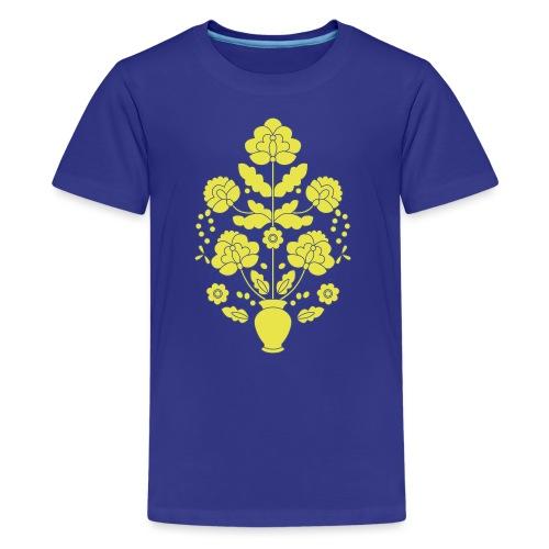Tree of Life on White - Kids' Premium T-Shirt