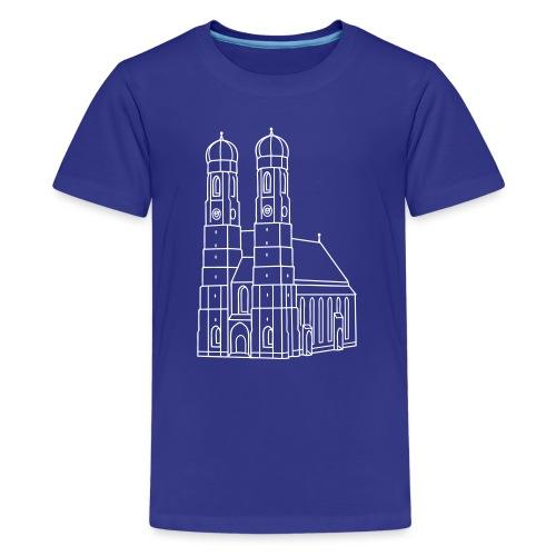 Munich Frauenkirche - Kids' Premium T-Shirt