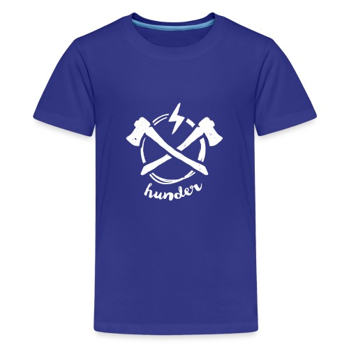 woodchipper back - Kids' Premium T-Shirt