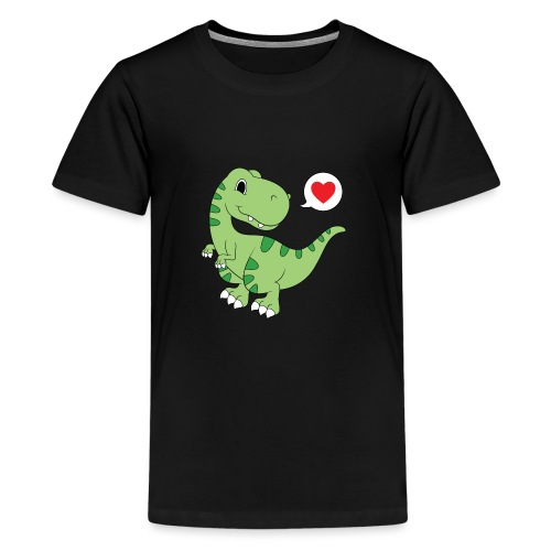 Dinosaur Love - Kids' Premium T-Shirt