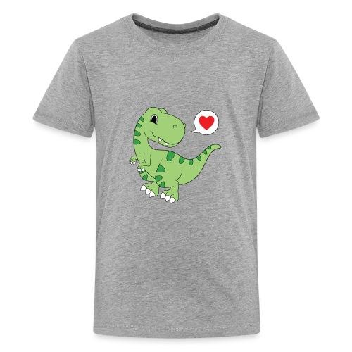 Dinosaur Love - Kids' Premium T-Shirt
