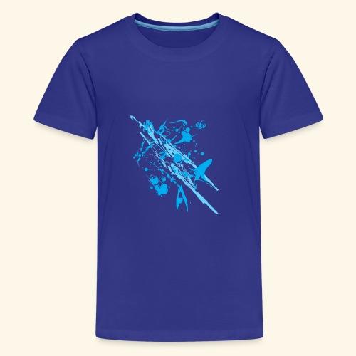 Blue Splash - Kids' Premium T-Shirt