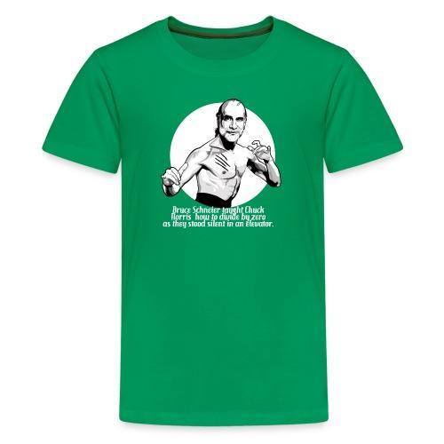 schneier10 martial white - Kids' Premium T-Shirt