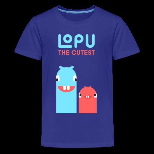 Lopu - The Cutest Worms - Kids' Premium T-Shirt