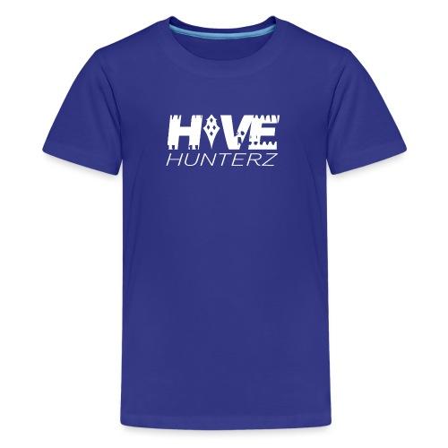White Hive Hunterz Logo - Kids' Premium T-Shirt