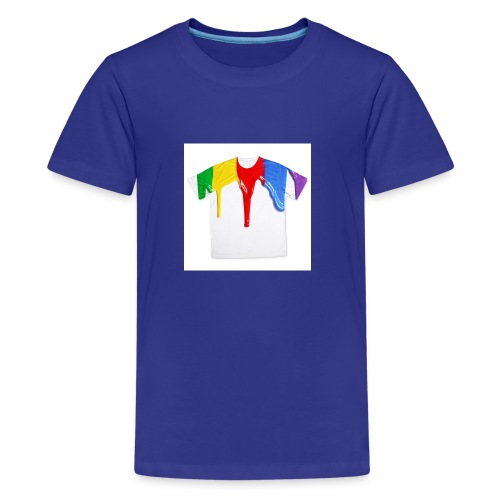 tshirt printing for kids paint design 100683 - Kids' Premium T-Shirt
