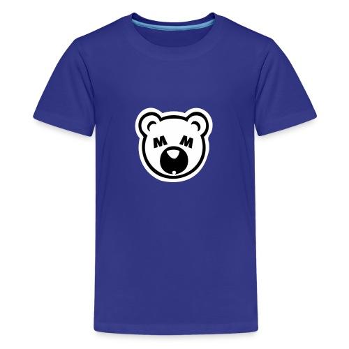 Bear Minimum Design - Kids' Premium T-Shirt