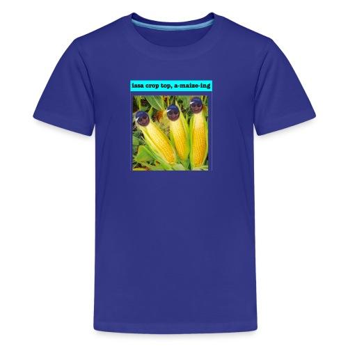 Crop Top - Kids' Premium T-Shirt