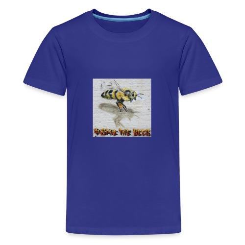 Hashtag #savethebees - Kids' Premium T-Shirt