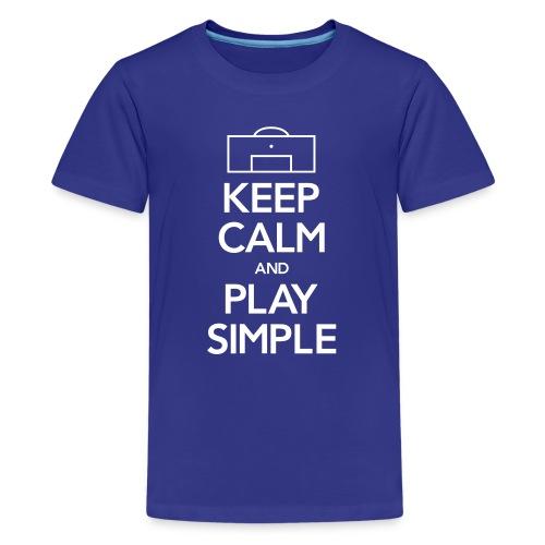 Play Simple Women's Tee (A Fundraising Item) - Kids' Premium T-Shirt