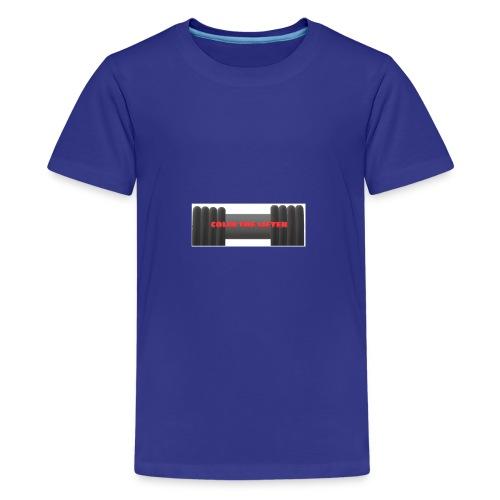 colin the lifter - Kids' Premium T-Shirt
