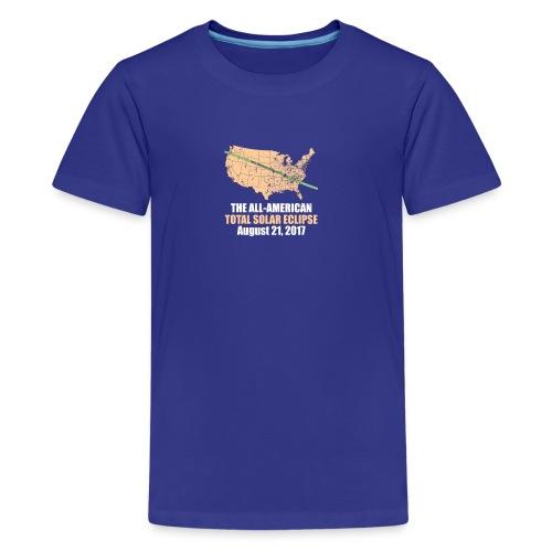 Total Solar Eclipse Summer August 21st 2017 T Shir - Kids' Premium T-Shirt