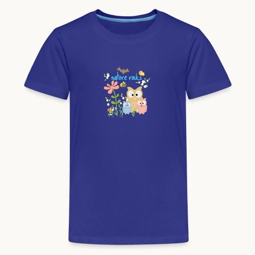 NATURE ROCKS CHILDREN Carolyn Sandstrom THR - Kids' Premium T-Shirt