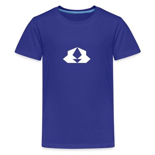 White cyclop - Kids' Premium T-Shirt