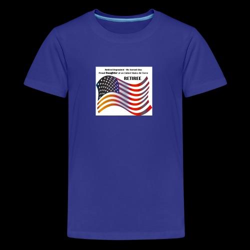 retired Military Dependents - Kids' Premium T-Shirt