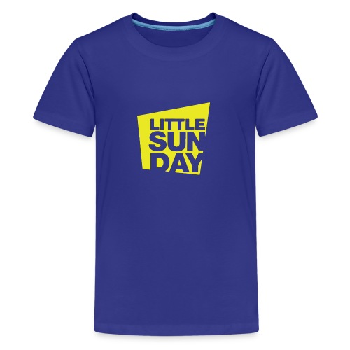 littleSUNDAY Official Logo - Kids' Premium T-Shirt