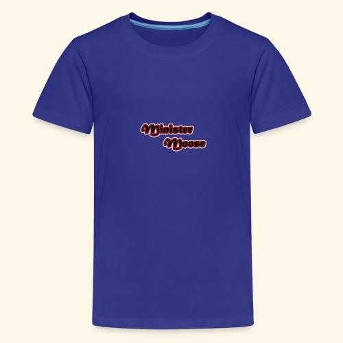 Minister Moose - Kids' Premium T-Shirt