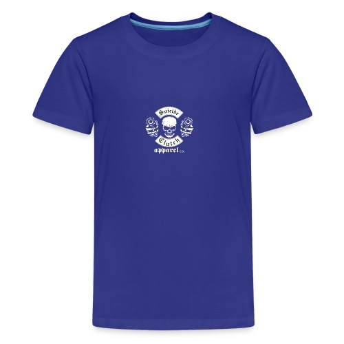 Suicide clutch Design - Kids' Premium T-Shirt