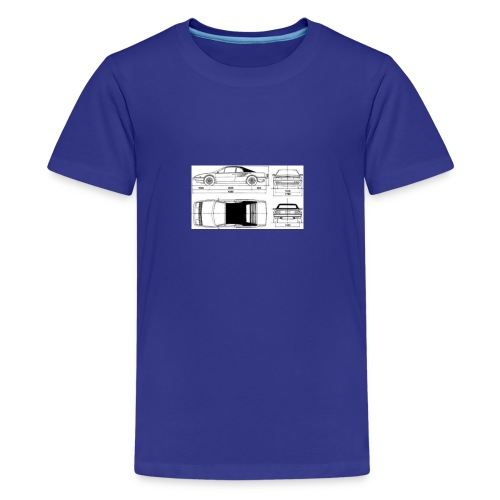 artists rendering - Kids' Premium T-Shirt