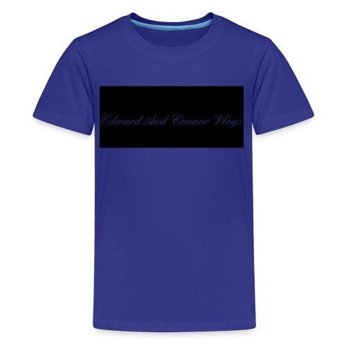 Edward and connor vlogs - Kids' Premium T-Shirt