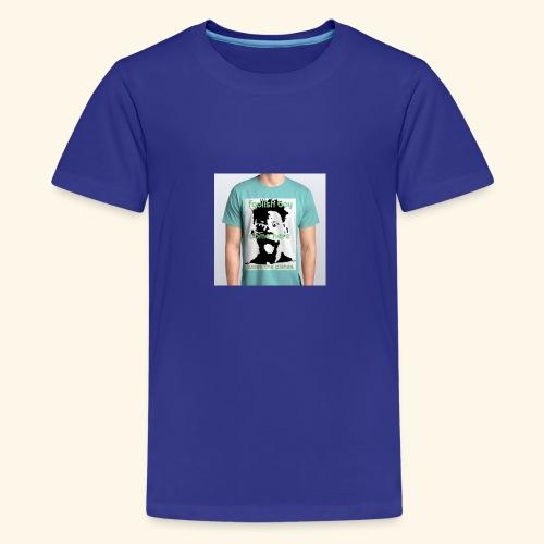 foolish boy come here - Kids' Premium T-Shirt