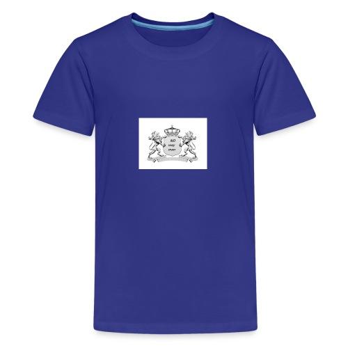 NO way man crowns of cougar - Kids' Premium T-Shirt